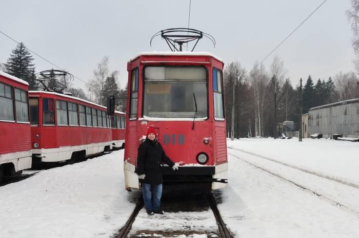 Как немка приехала в Витебск, чтобы увидеть трамвайное депо и старые советские вагоны