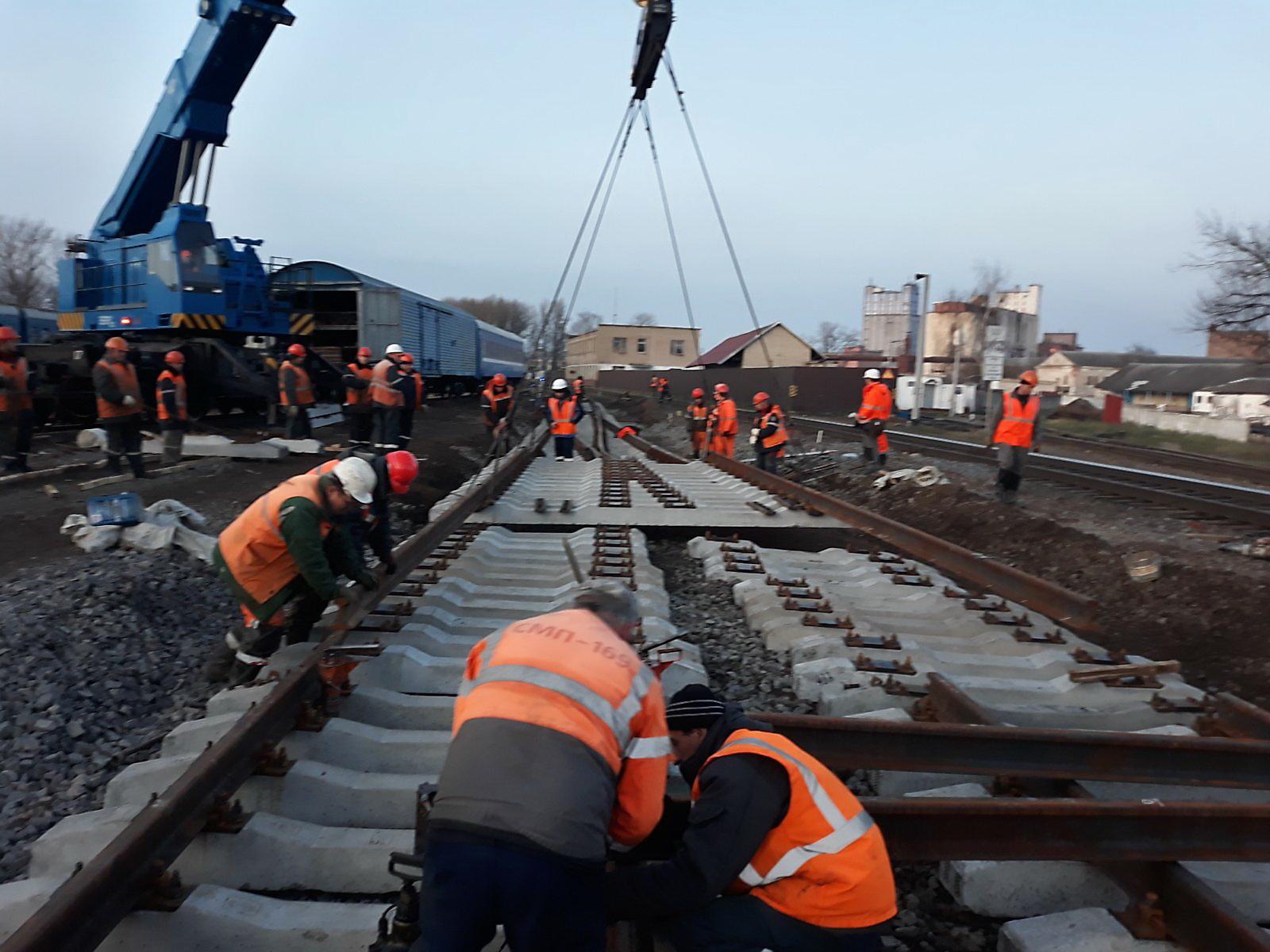 Что сейчас происходит на строительстве Полоцкого путепровода. Завтра пойдет поезд по новым путям