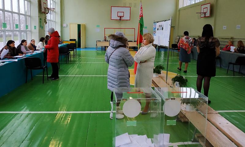 Что происходило на избирательных участках Витебска 17 ноября