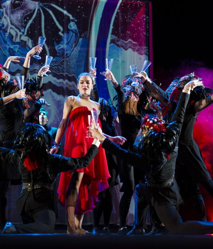 В Витебске показали балет «ВИЙ» академического театра «КИЕВ МОДЕРН-БАЛЕТ» из Украины