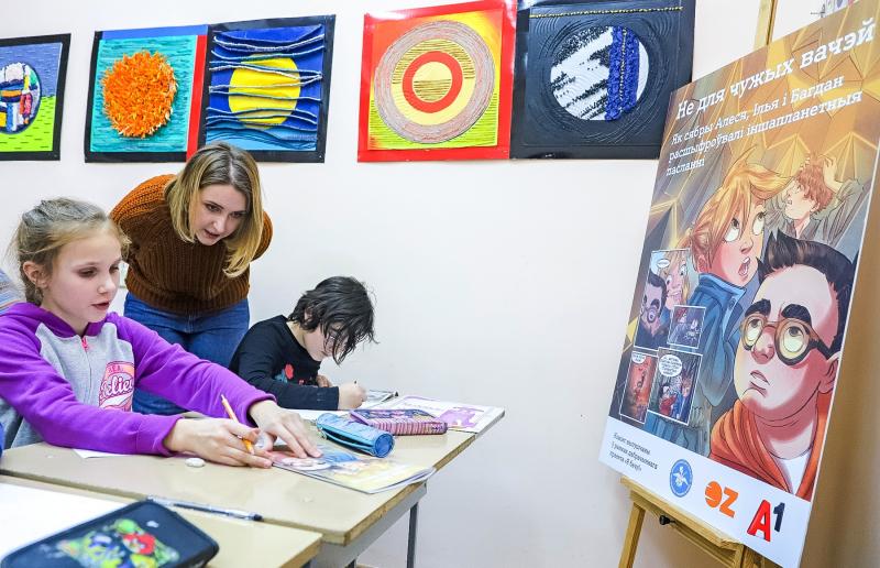 Как в Витебске прошел необычный мастер-класс от благотворительного проекта «Я вижу!»