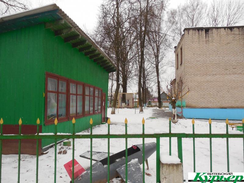 Где в Витебске на месте кладбища был построен детский сад