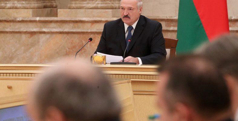 Лукашенко в Витебске