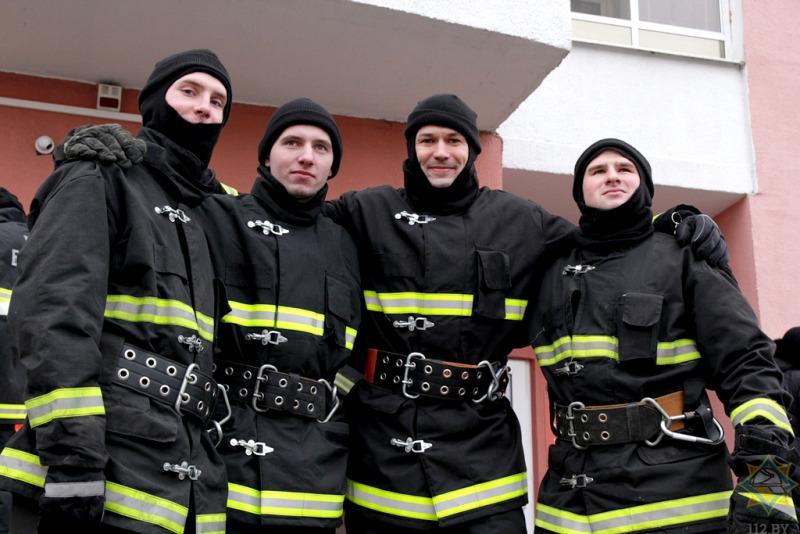 В Витебске прошел конкурс спасателей