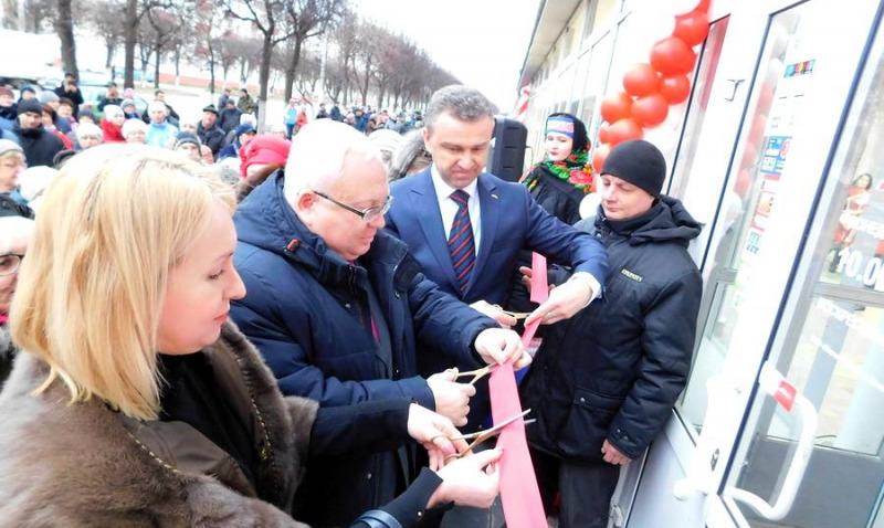 В Орше открылся новый магазин «Марко»