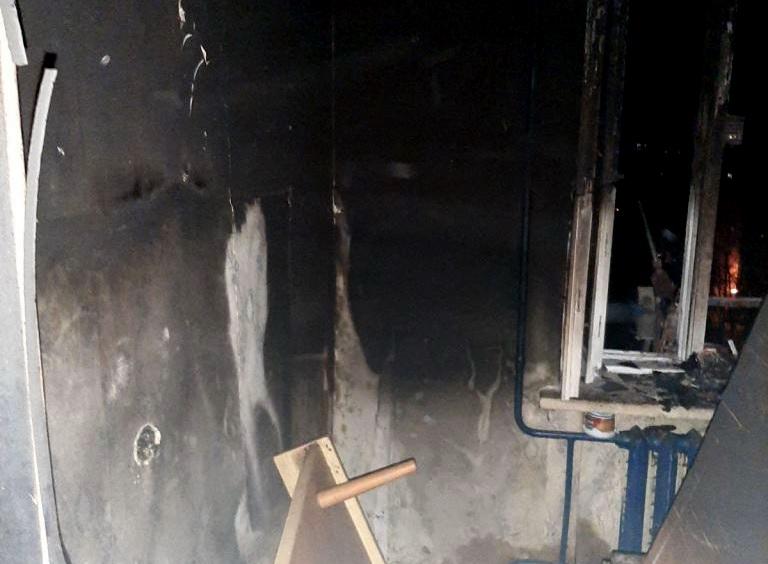 В одной из многоэтажек Витебска сгорела квартира