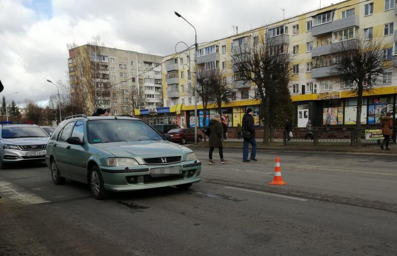 На пешеходном переходе сбили пенсионерку в Новополоцке