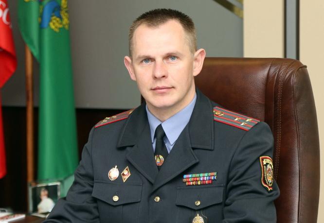 Михаил Вячеславович Гриб, начальник УВД Витебского облисполкома
