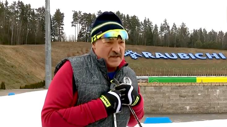 Лукашенко в Раубичи