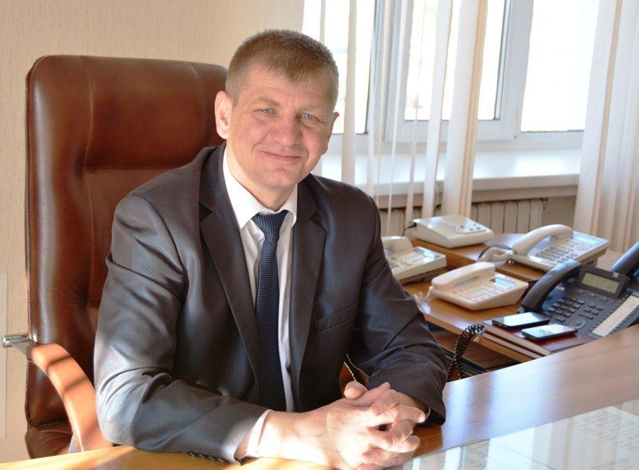 Председатель Докшицкого райисполкома Олег Пинчук