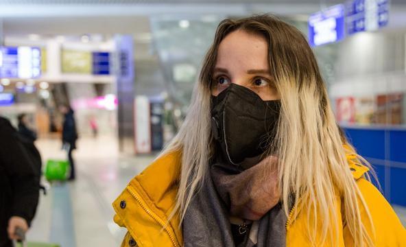 Маска коронавирус грипп