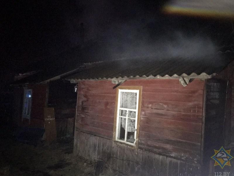 Мужчина погиб минувшей ночью на пожаре в Городке