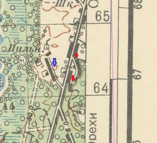 Как строились дороги и улицы в 1927 году в деревне Орехи на витебщине