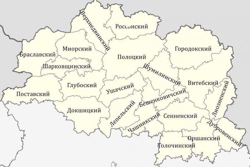 Территория Витебской области расширится