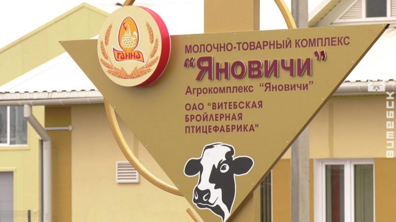 Под Витебском открыли современный молочнотоварный комплекс