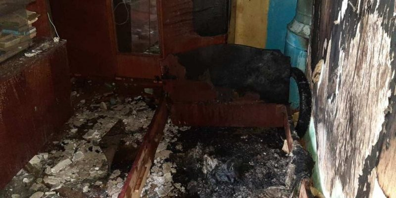 Пожар Шумилино Витебской области