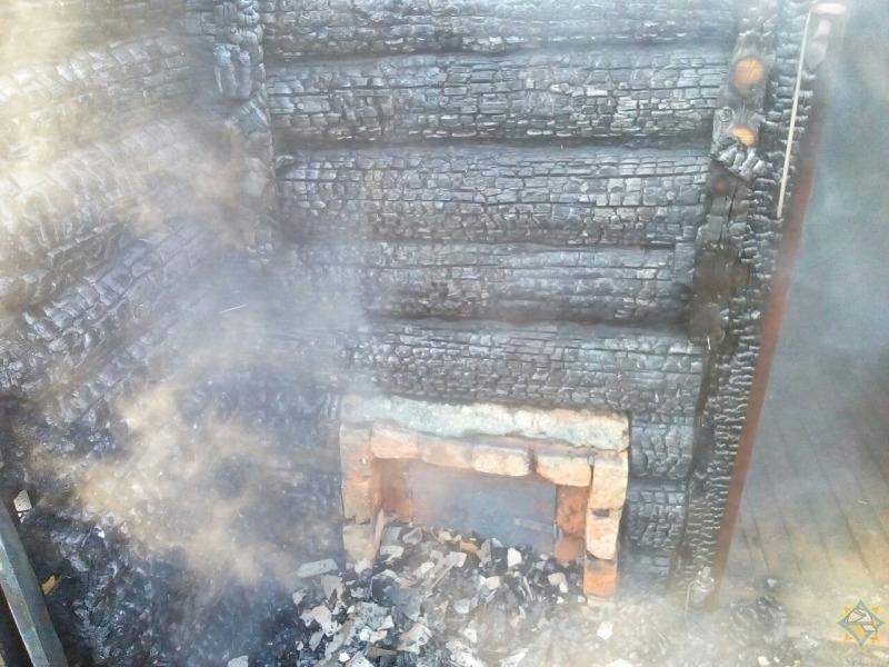 Сгорела баня Витебск