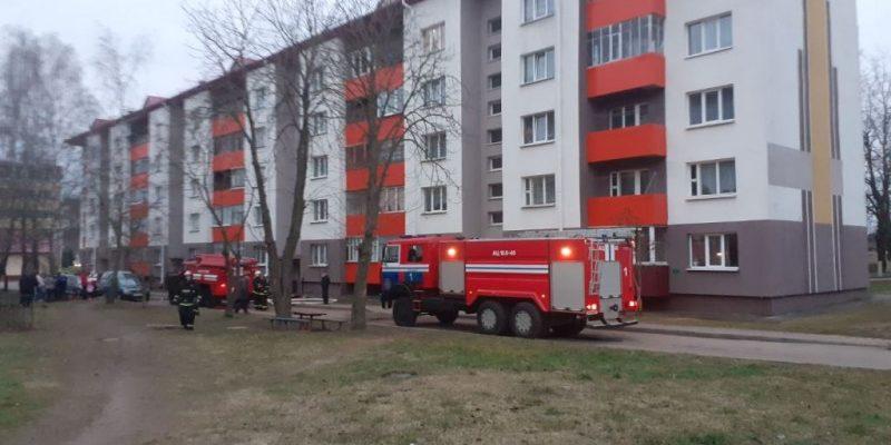 Пожар в Толочине