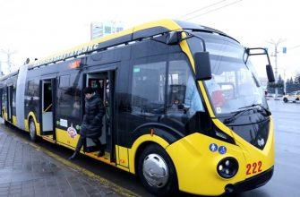 Троллейбус в Витебске
