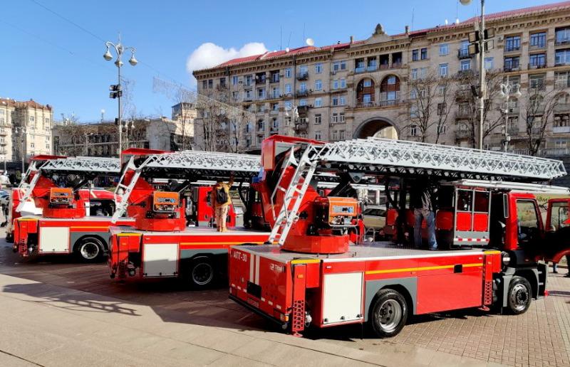 Витебские машиностроители вместе с украинцами разработали пожарный автогидроподъемник