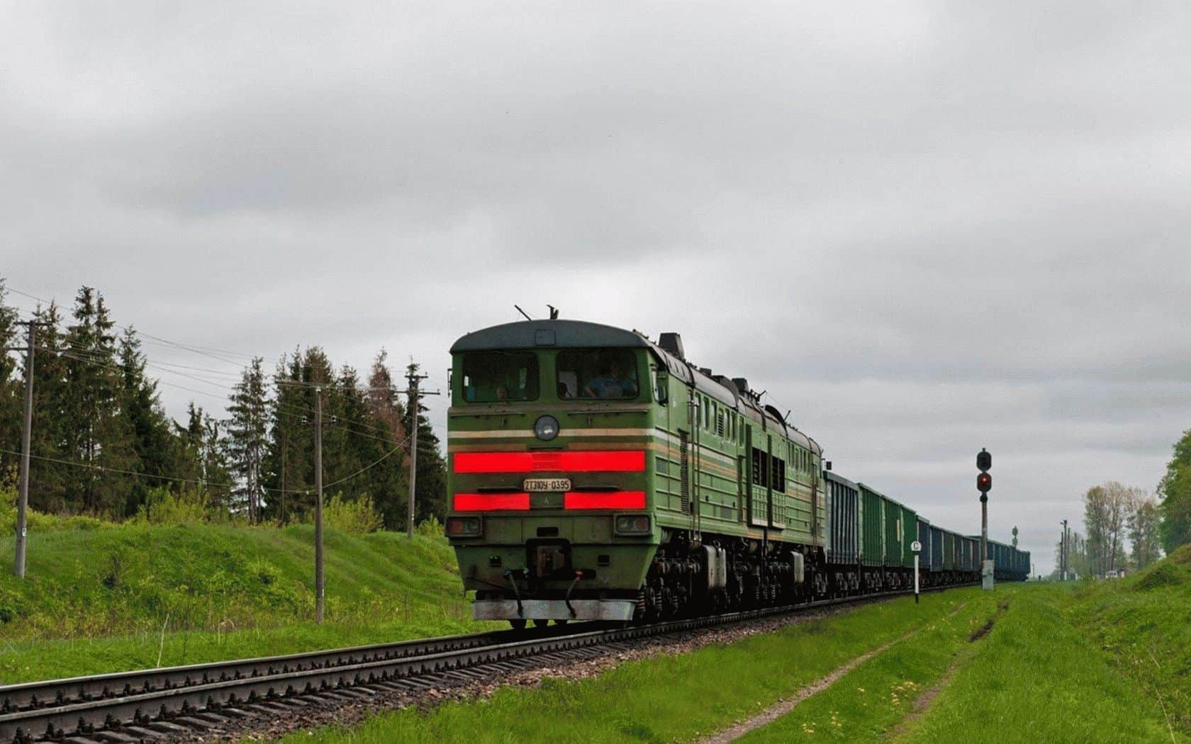 Девушка попала под поезд в Полоцком районе