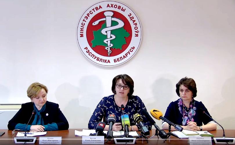 Минздрав раскрыл данные о количестве заболевших коронавирусом и пневмонией в Беларуси