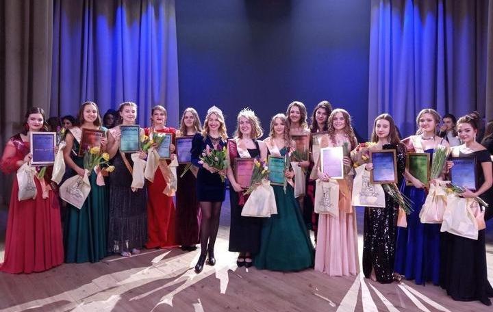 Анастасия Лукашенко заняла второе место на конкурсе «Мисс Лицей БГУ»