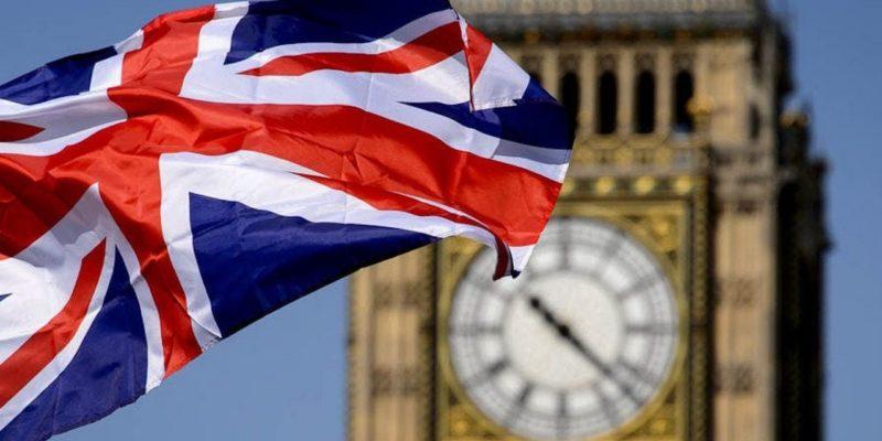 Великобритания, флаг, Лондон