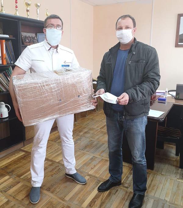 Бизнесмен из Витебска оказал поддержку Лепельской ЦРБ