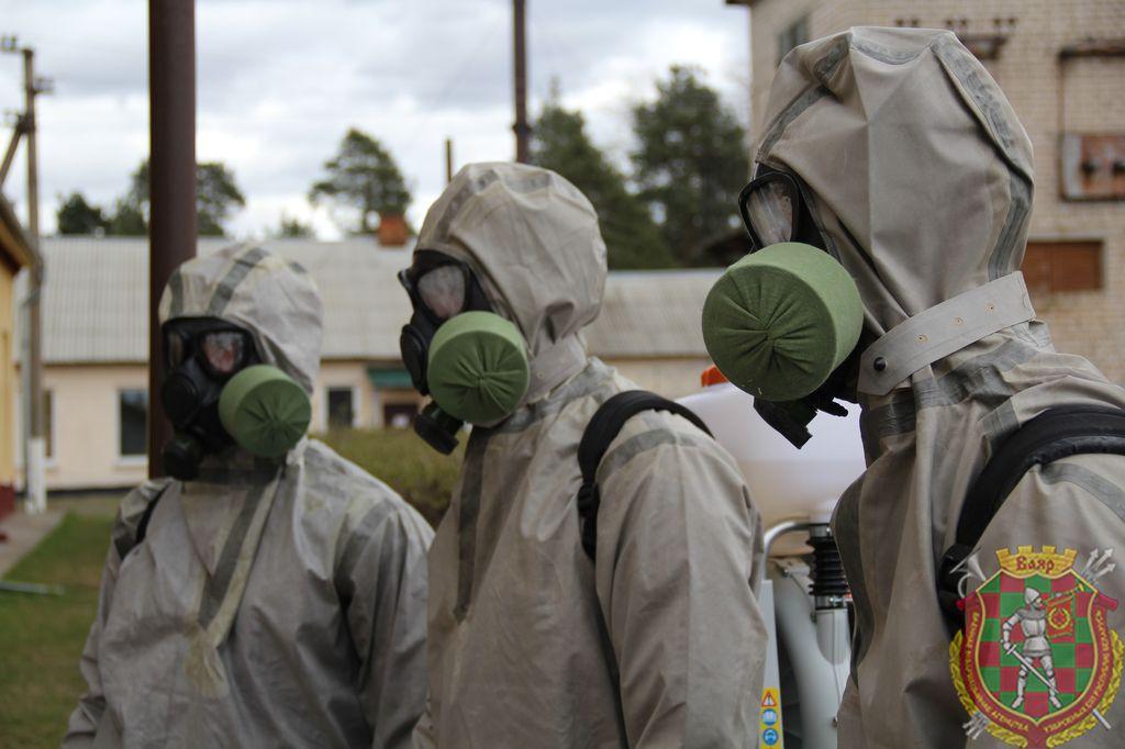 Химические войска окажут помощь в дезинфекции против коронавируса в Беларуси
