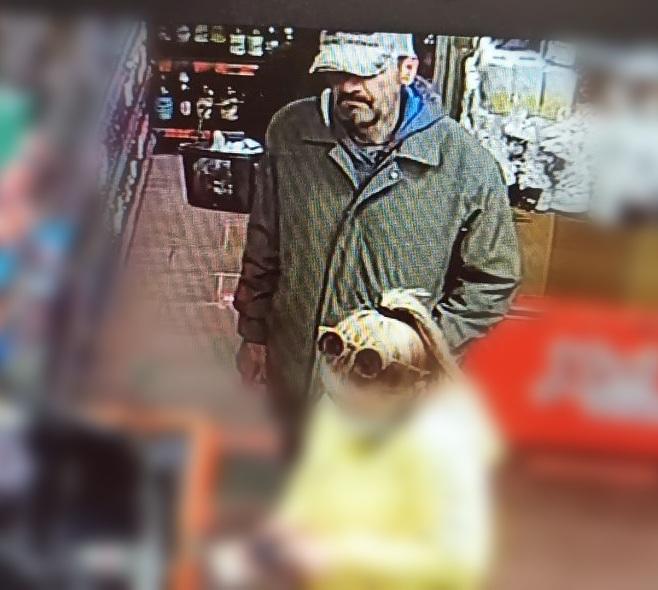 В Витебске разыскивается мужчина за совершение противоправных действий в магазине «Хит» по Ленинградской