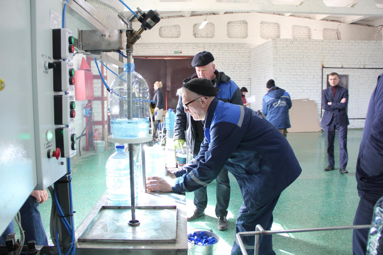 Богушевский спиртзавод наладил выпуск дезинфицирующего средства для обработки рук