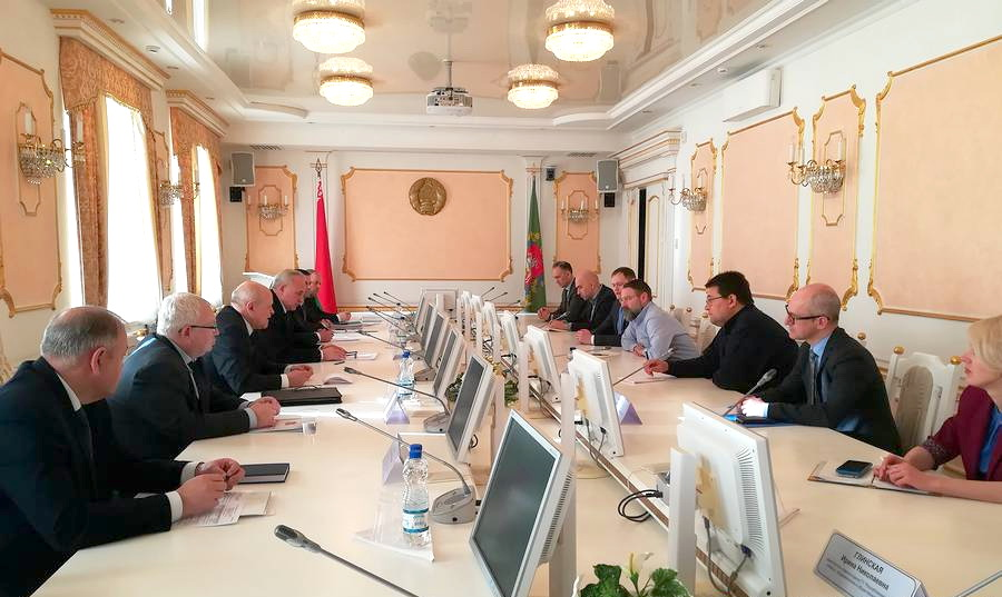 Делегация ВОЗ изучила эпидемиологическую ситуацию в Витебской области