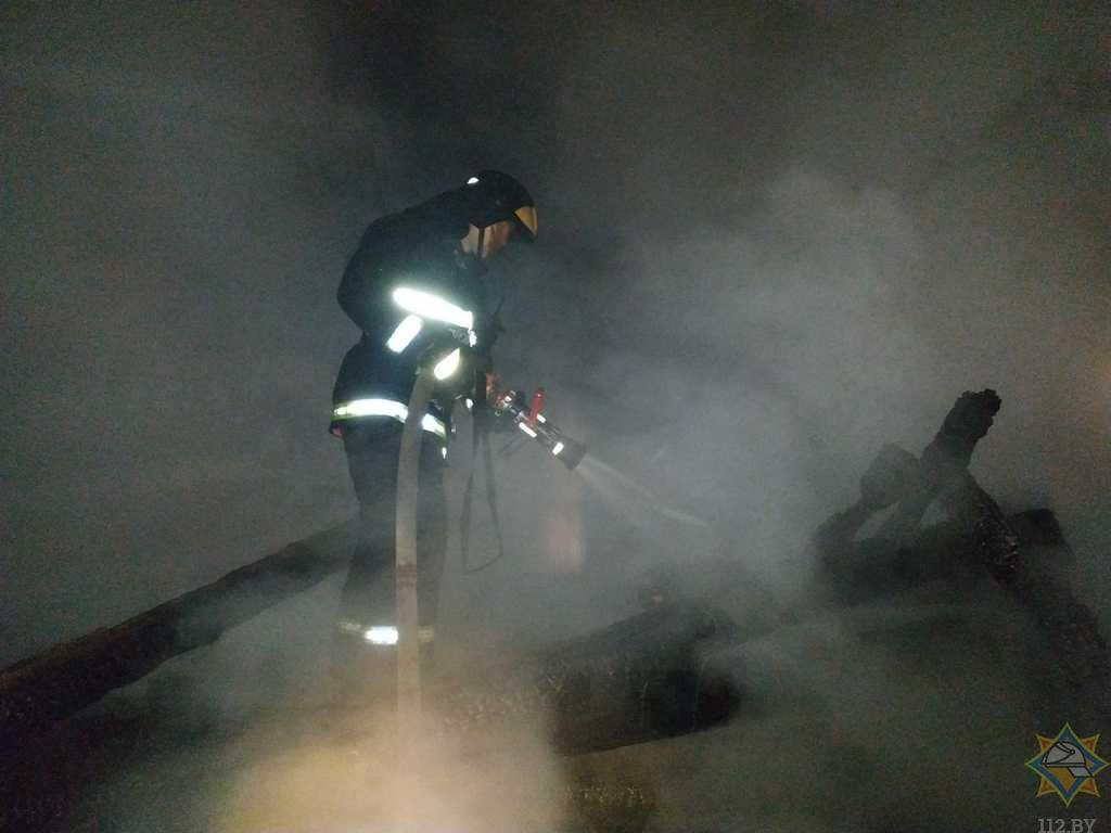 83-летний пенсионер погиб на пожаре в Миорском районе