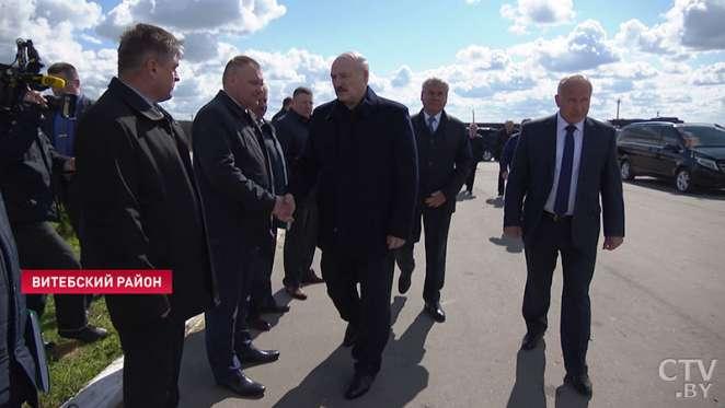 Николай Лукашенко побывал на ферме под Витебском — фото