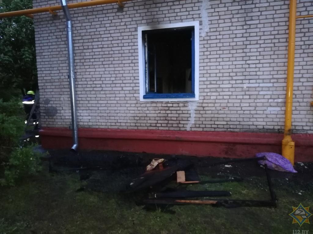 В Оршанском районе благодаря слаженным действиям сотрудников Департамента охраны и работников МЧС спасены три человека