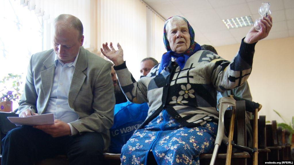 Гомельская епархия отсудила икону у 87-летней сельчанки