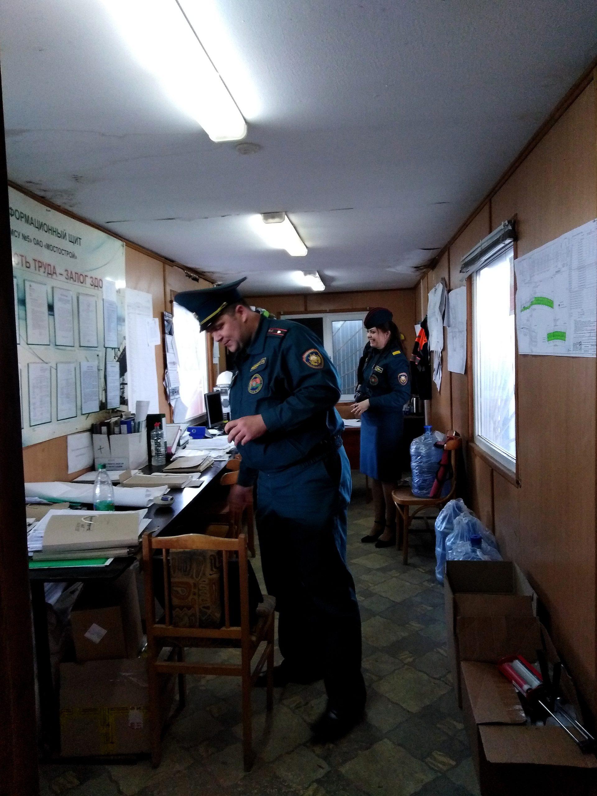 В Витебске растет число пожаров в строительных бытовках: рабочие забывают об элементарных правилах безопасности