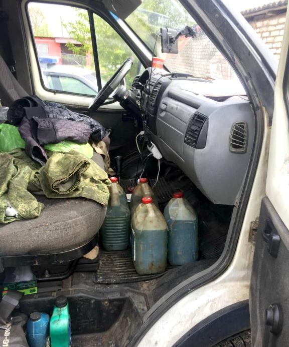 В Шарковщине с партией краденной солярки задержан водитель грузовика