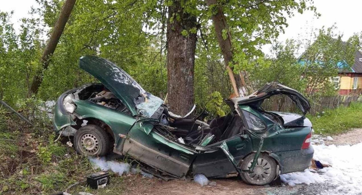 Смертельное ДТП произошло в Поставском районе — фото