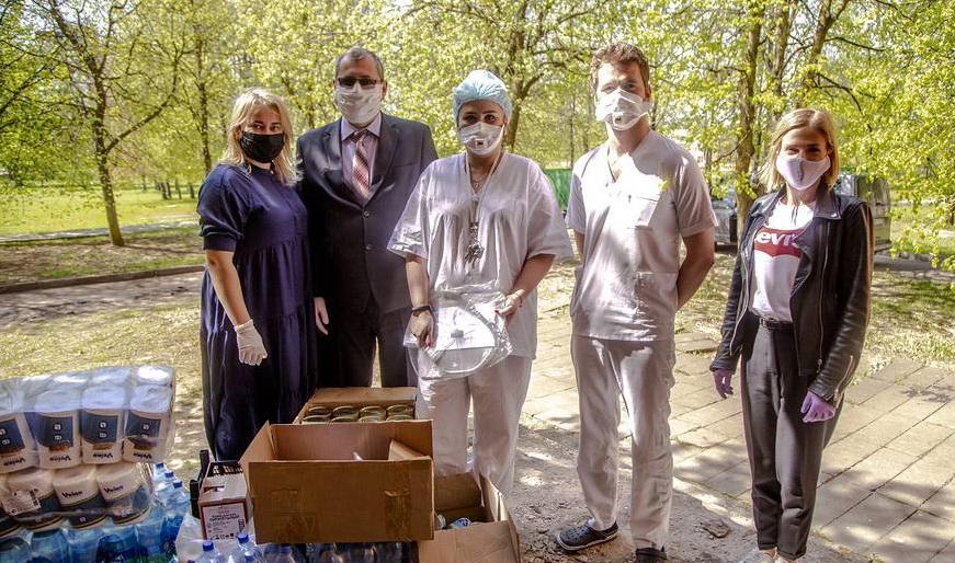 Компания «Витебскмясомолпром» оказала витебским больницам помощь на сумму около 820 долларов США