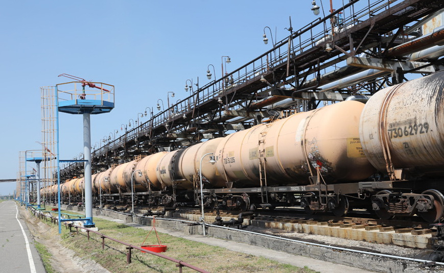 Американская нефть доставлена на «Нафтан»
