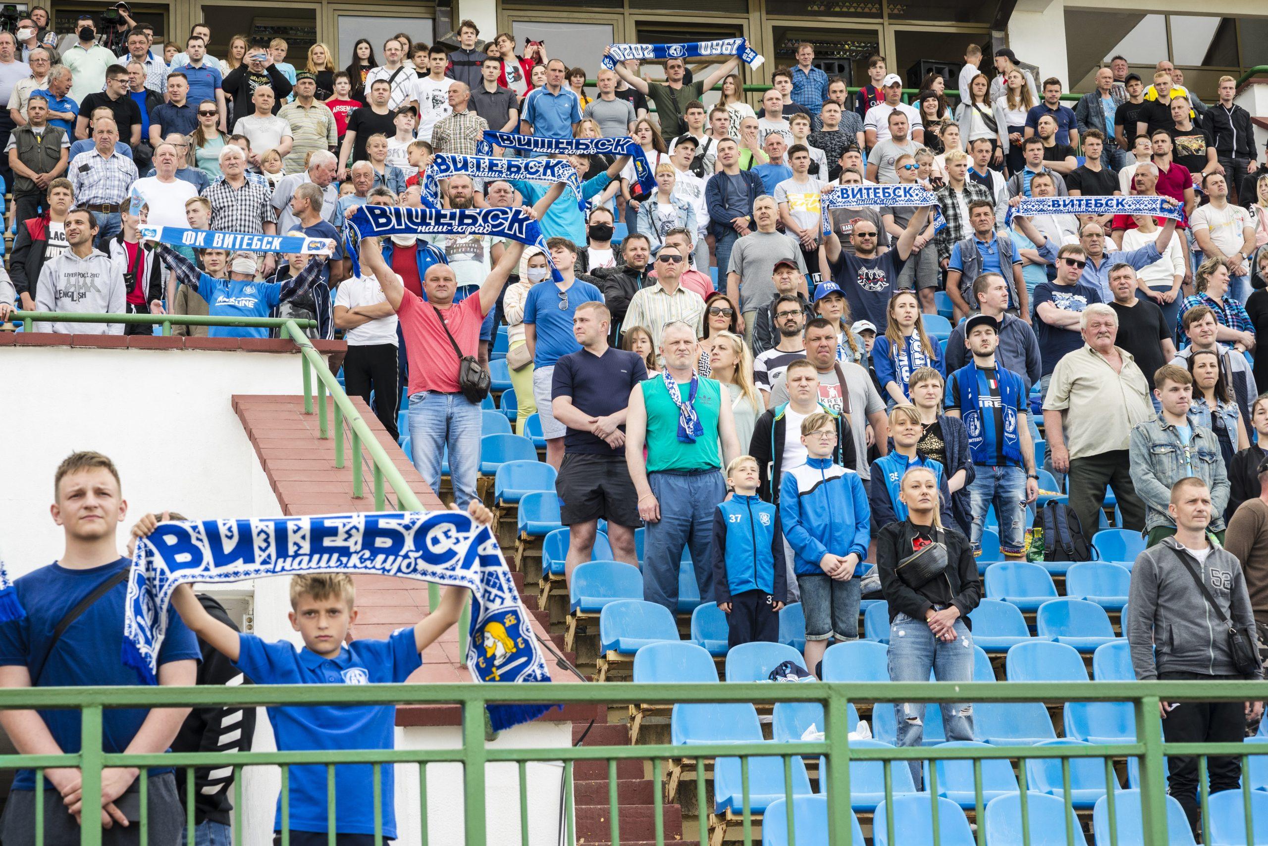 «Витебск» снова победил!
