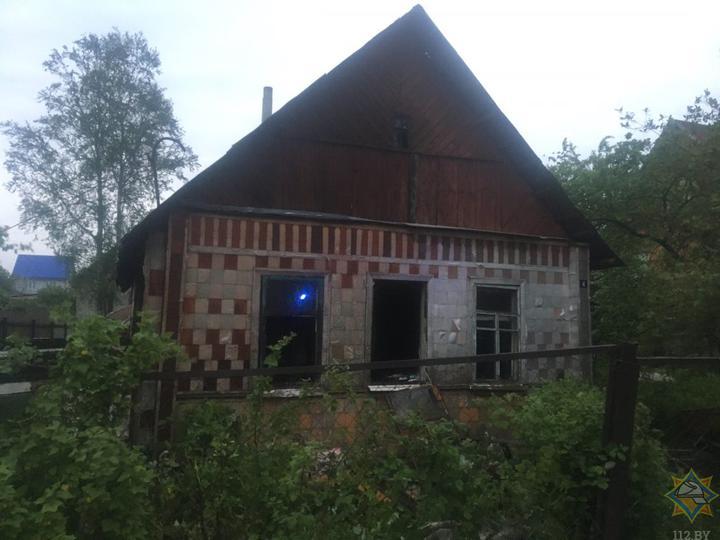 Погибла женщина в пожаре в Витебской области