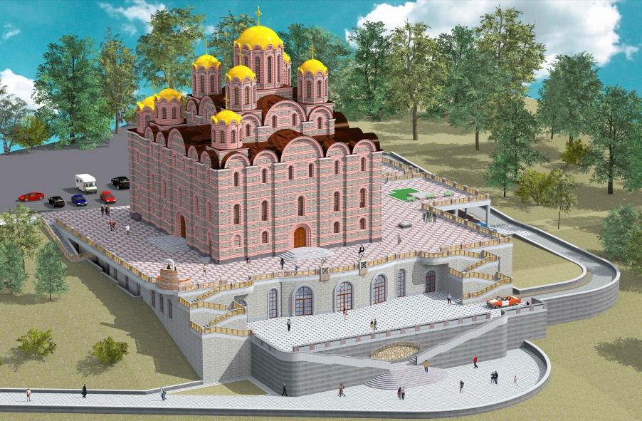 Сегодня в Витебске состоится презентация концепции строительства Софийского собора