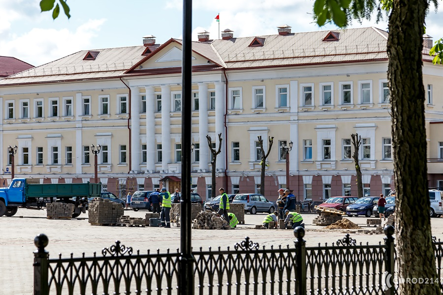 Полоцк готовится к приезду Лукашенко, как в последний раз