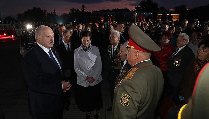 Лукашенко в Бресте: Я никому не позволю силовым образом решать проблемы, которые надо решать мирно