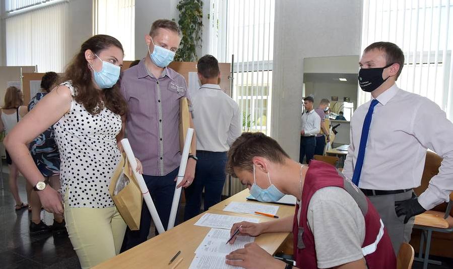 В Витебской области стартовало централизованное тестирование