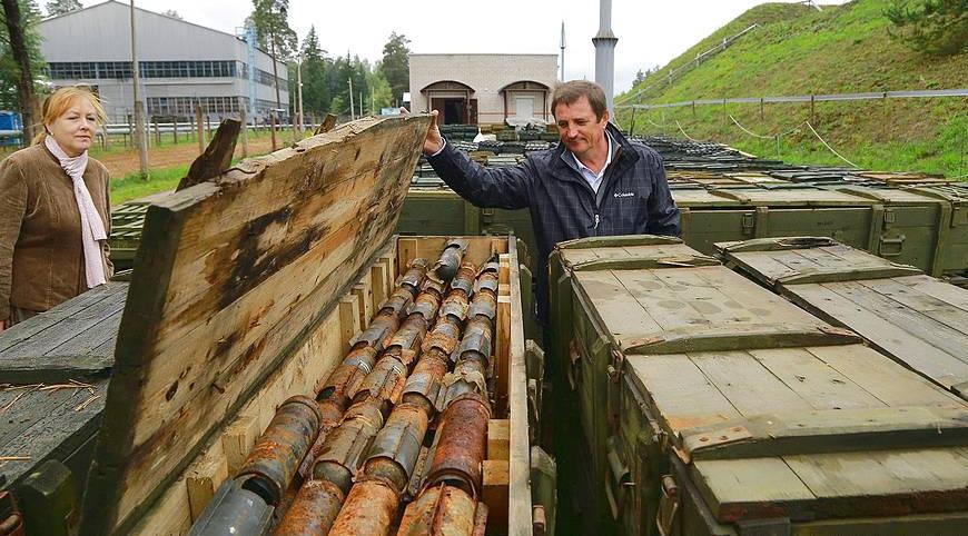 Как предприятие из Городокского района помогает военным избавляться от просроченных боеприпасов