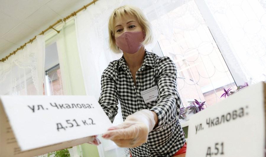 В Витебске проходит досрочное голосование